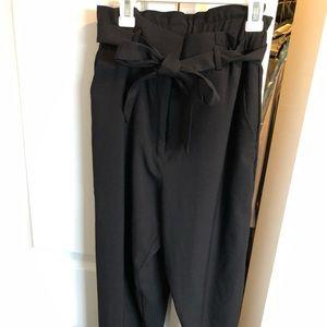 H&M high waist work pants